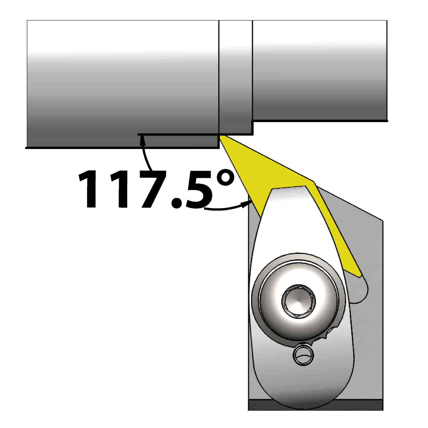 External turning<br />Top clamping<br />DVPN L/R