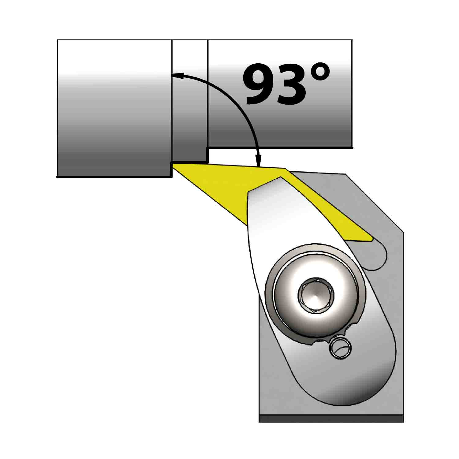 External turning<br />Top clamping<br />DVUN L/R