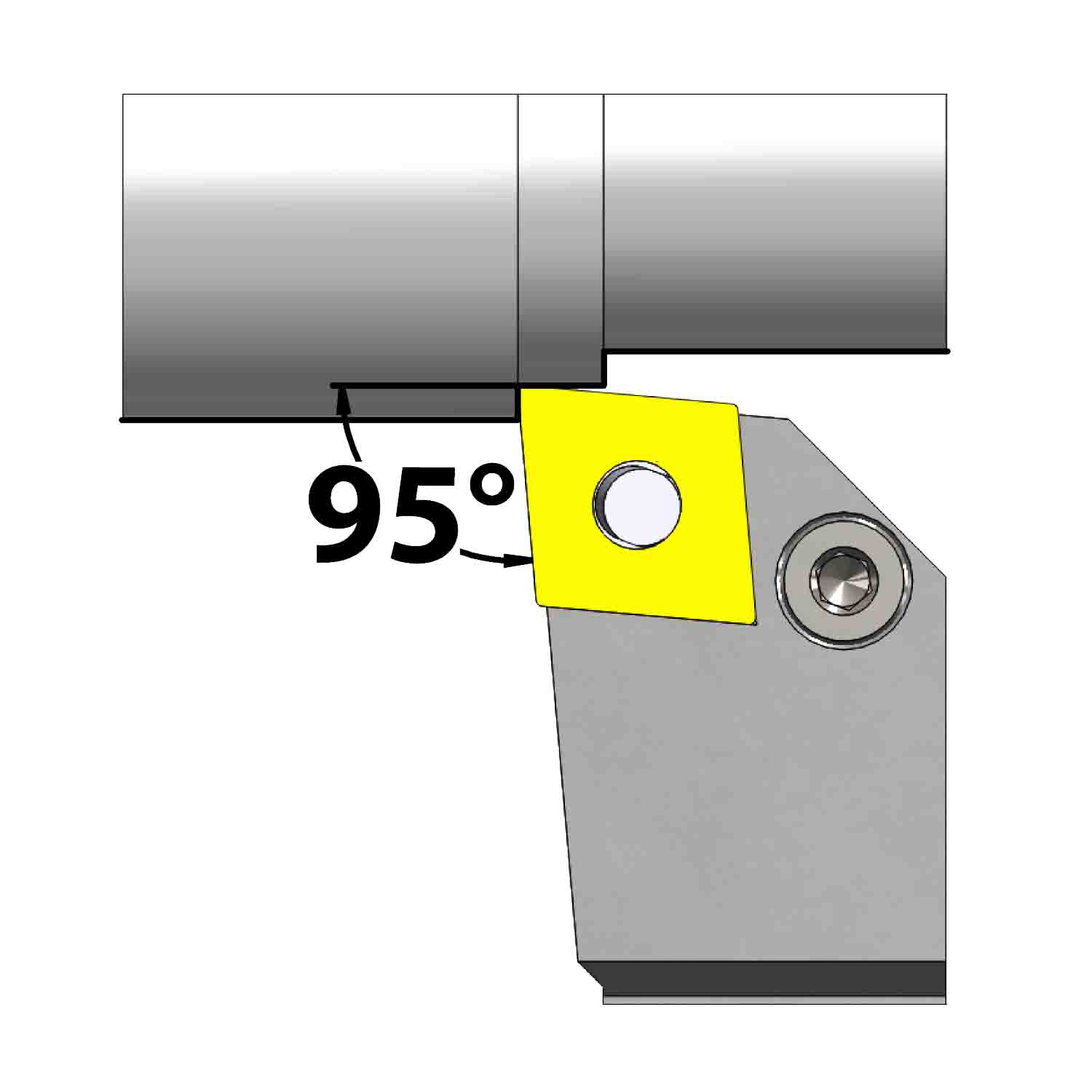 External turning<br />Lever lock clamping<br />PCLN L/R