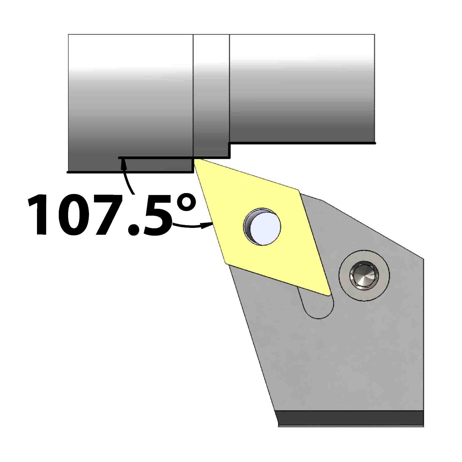 External turning<br />Lever lock clamping<br />PDHN L/R