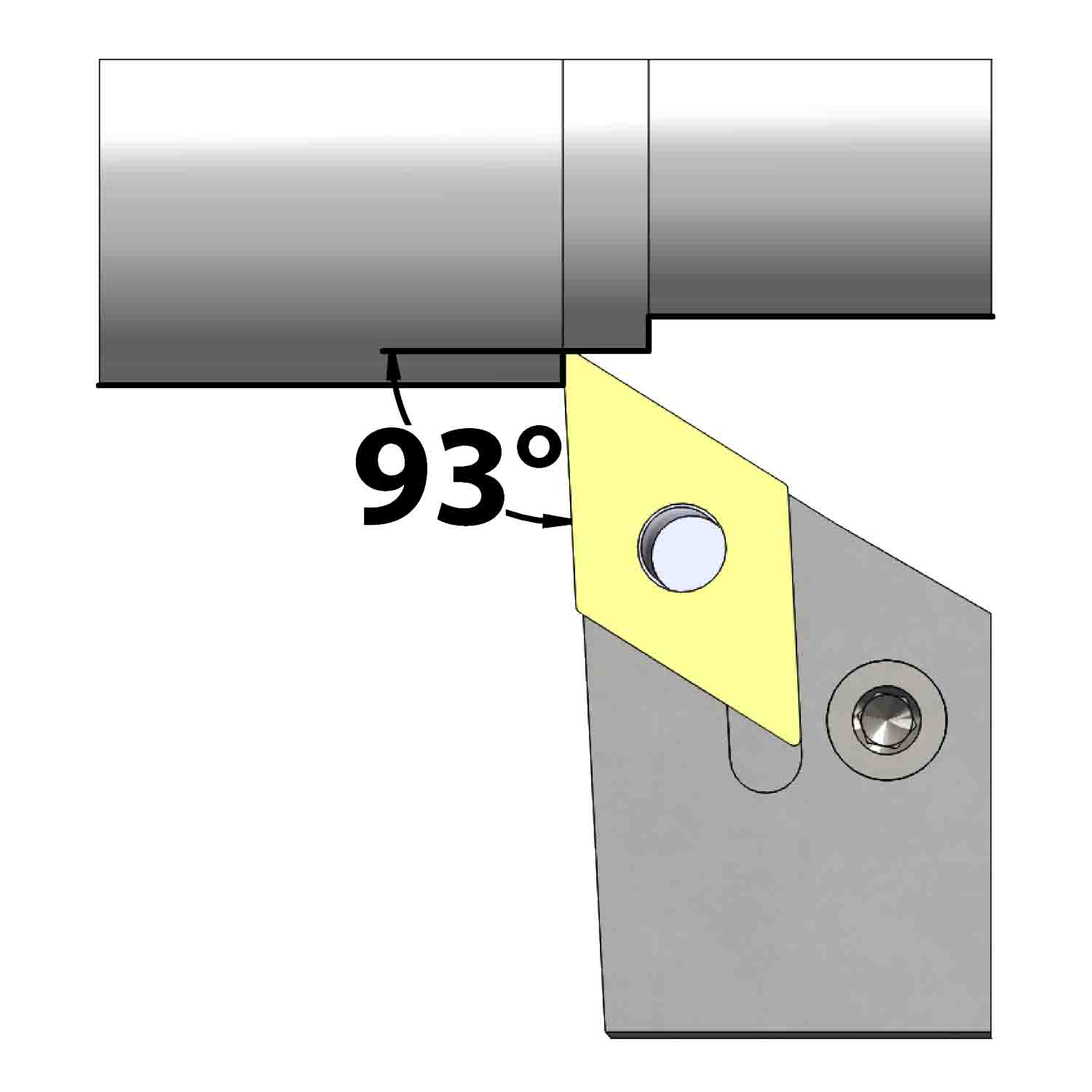 External turning<br />Lever lock clamping<br />PDJN L/R