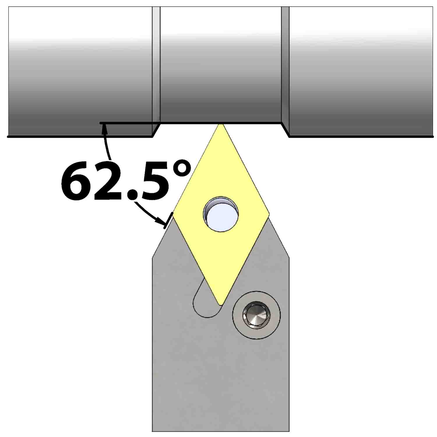 External turning<br />Lever lock clamping<br />PDNN N