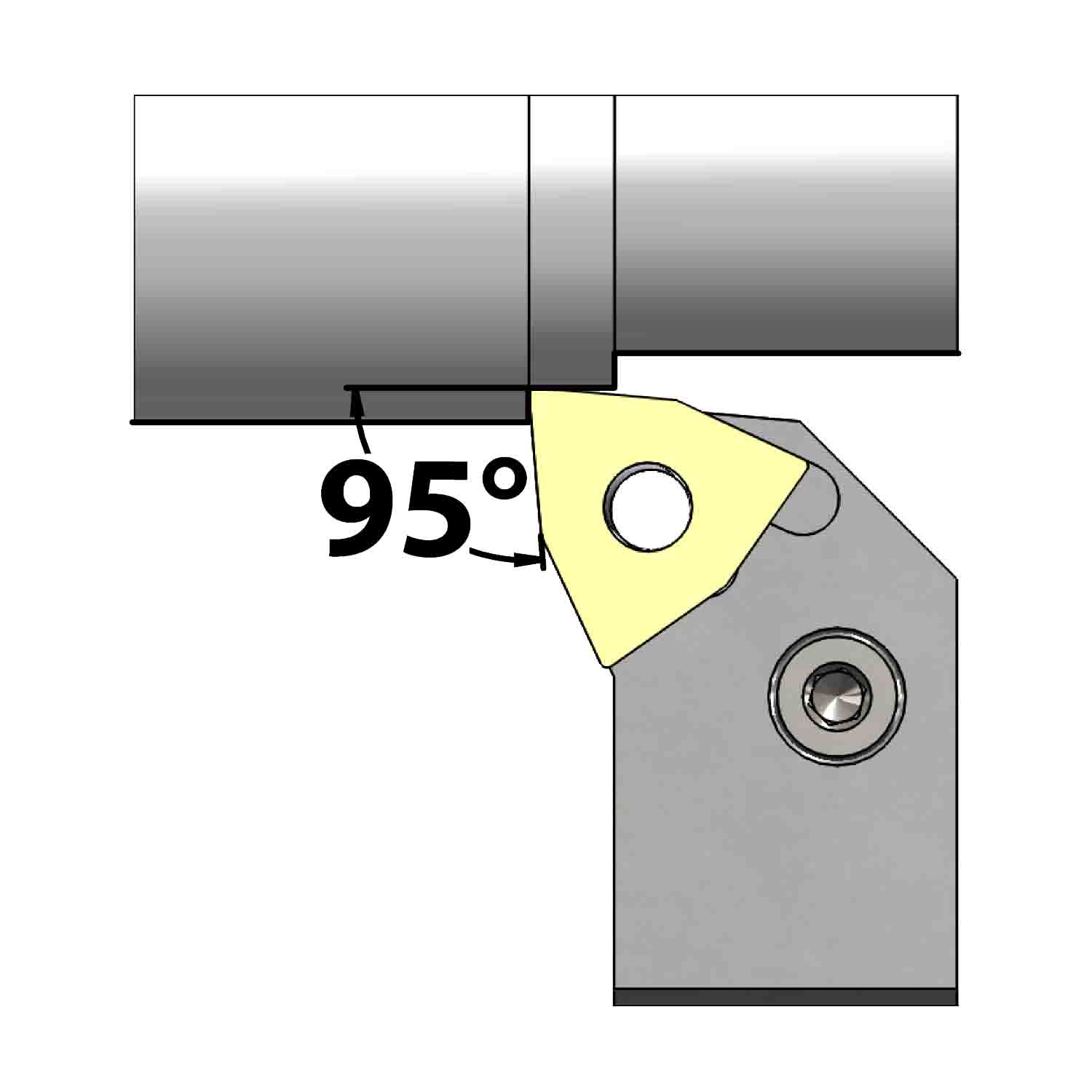 External turning<br />Lever lock clamping<br />PWLN L/R