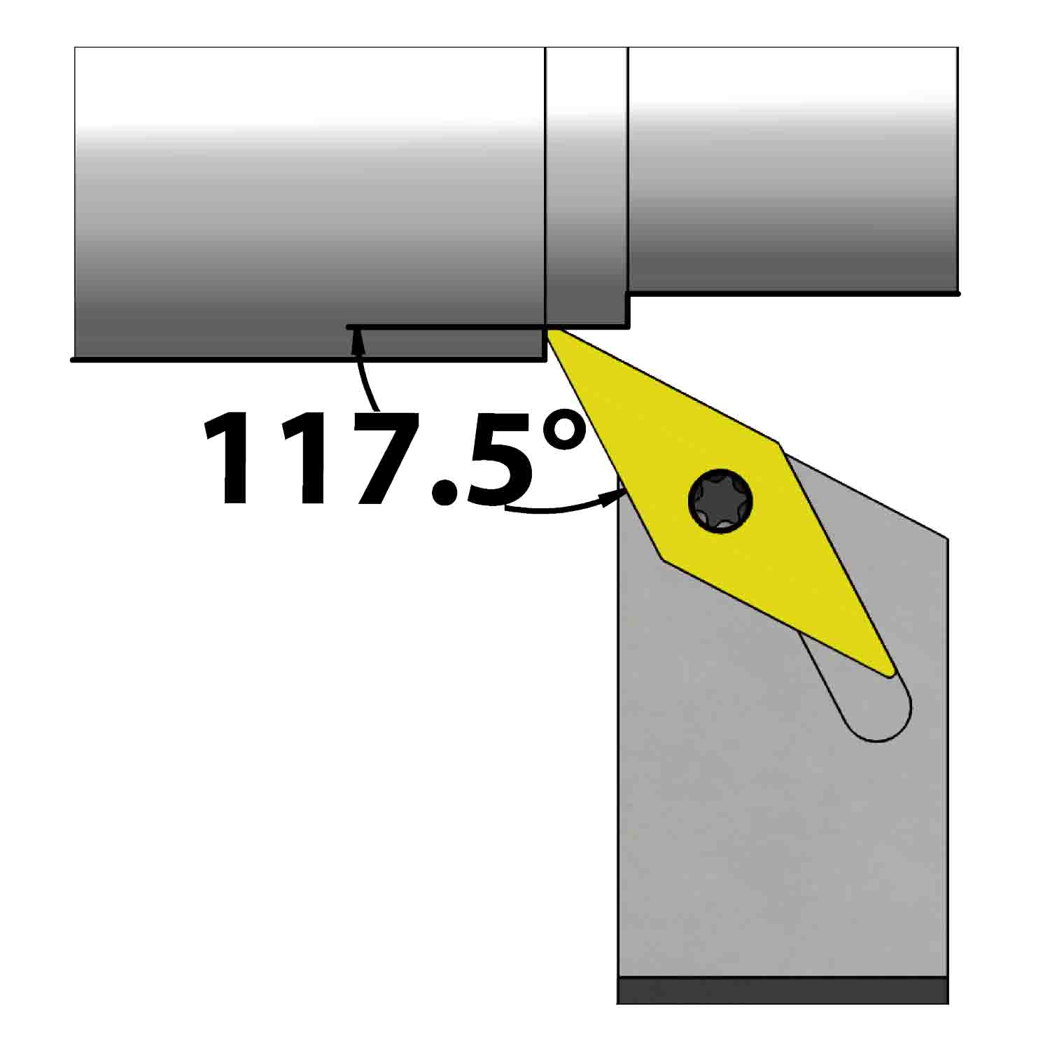 External turning<br />Screw clamping<br />SVPB L/R
